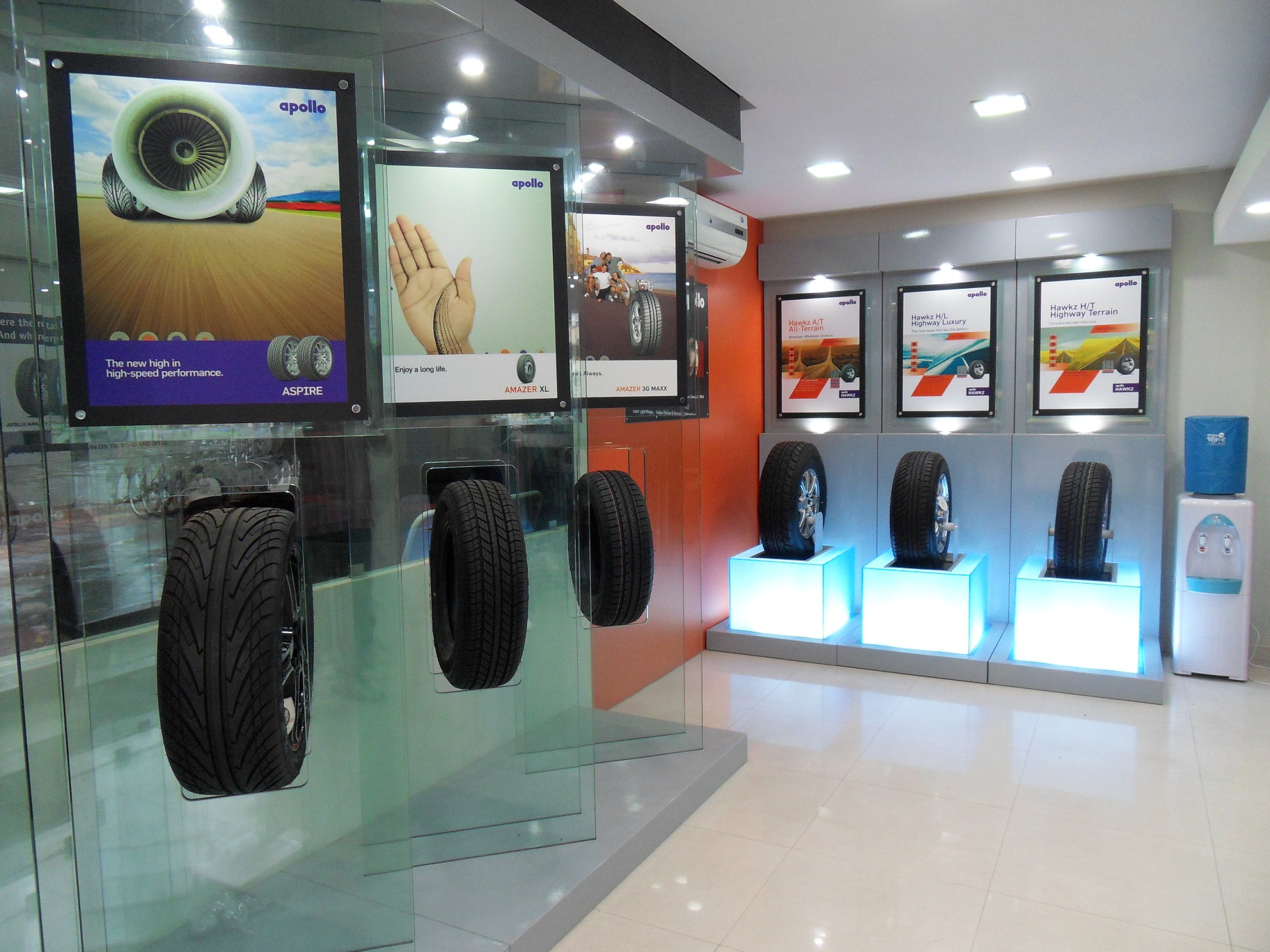 Our showroom pictures best tyre shop in ahmedabad for Auto decoration shops in rawalpindi