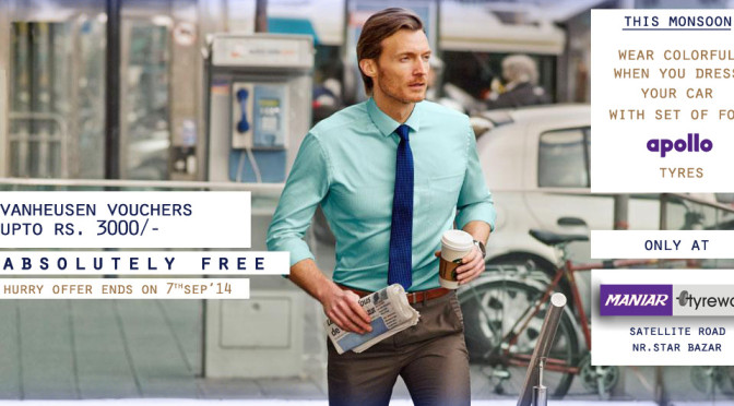 VanHeusen Vouchers Free!! Offer ending on 7th,Sep'14