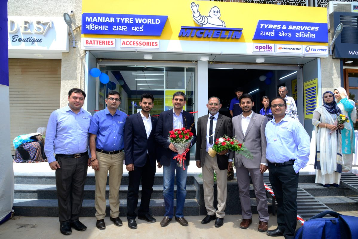 India's 1st Michelin Tyres and Service  Inaugration